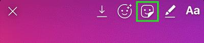 استفاده از استوری اینستاگرام ۴