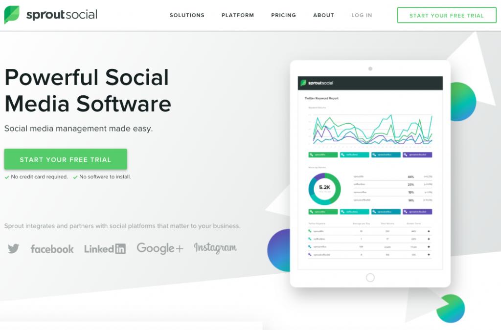 ابزارهای شبکه های اجتماعی